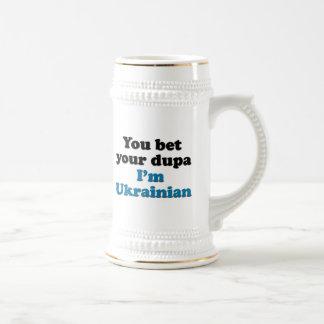 You bet your dupa I'm Ukrainian Beer Stein