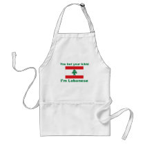 You bet your kibbi I'm Lebanese Adult Apron