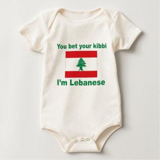 You bet your kibbi I'm Lebanese Baby Bodysuit