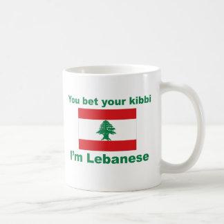 You bet your kibbi I'm Lebanese Coffee Mug