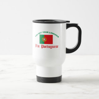 You Bet Your Linguica Travel Mug