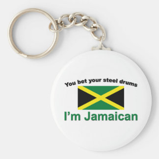 """You bet your steel drums... Keychain"