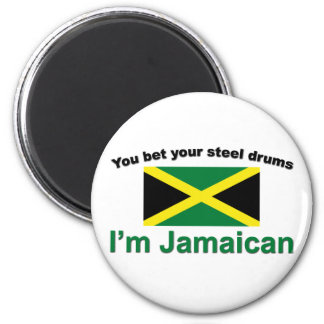 """You bet your steel drums... Magnet"