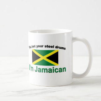 """""""You bet your steel drums... Classic White Coffee Mug"""