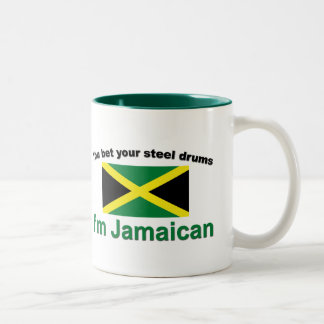 """""""You bet your steel drums... Two-Tone Coffee Mug"""