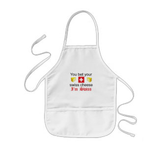 You Bet Your Swiss Cheese 1 Kids' Apron