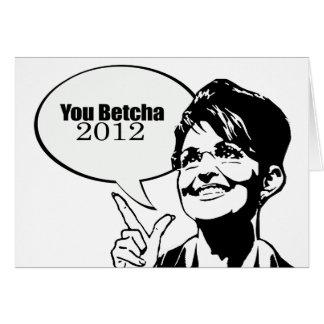 You betcha 2012 greeting cards