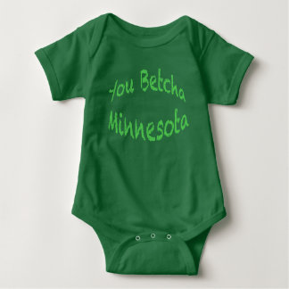 You Betcha Baby Jersey Bodysuit