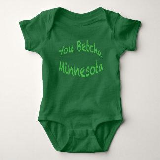 You Betcha Baby Jersey Bodysuit