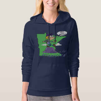 You Betcha! Minnesota Cacher Women's Fleece Hoodie