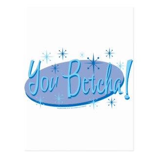 You-Betcha Postcard