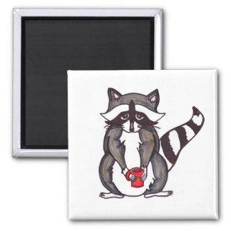 """You Betta Raccoonize"" Cute Raccoon Magnet"