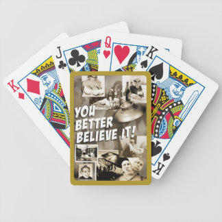 You Better Believe It! - Playing Cards