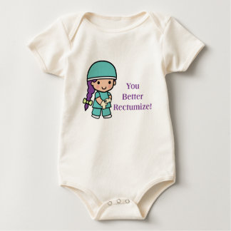 You Better Rectumize Baby Bodysuit