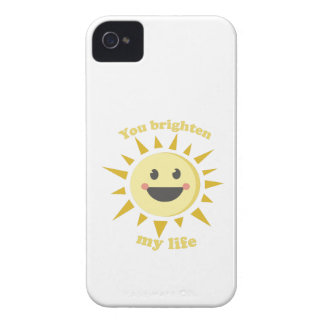 You Brighten My Life iPhone 4 Cover