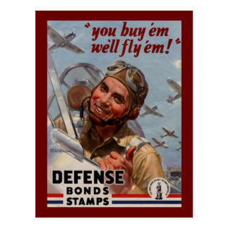 "You Buy 'em and We'll Fly 'em"" Postcard"