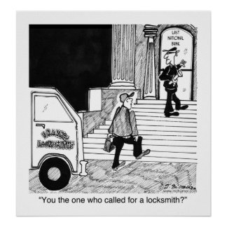 You Call For a Locksmith? Poster