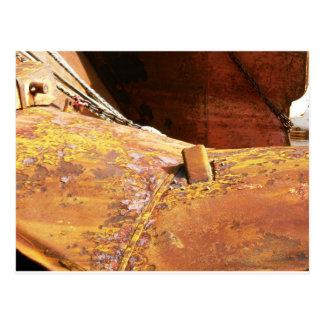 You call it rust, i call it character! postcard