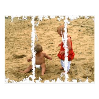 You Call That A Sand Angel? Postcard