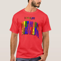 You Can Be the Change Dark T-Shirt