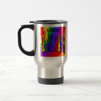 You Can Be the Change Rainbow Travel Mug