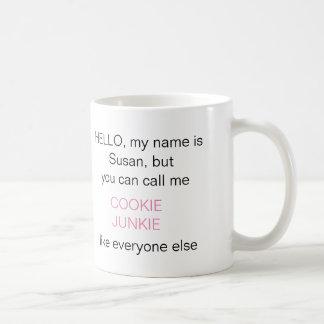 'You Can Call Me' DIY Pink ID233 Coffee Mug