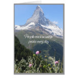 You Can Climb Your Mountain - Encouragement Card at Zazzle