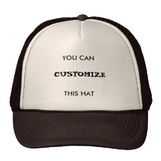 You can customize this hat!