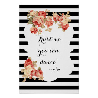 You Can Dance Funny Wedding Sign