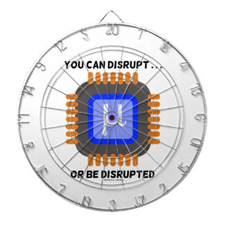 You Can Disrupt ... Or Be Disrupted Microprocessor Dartboards