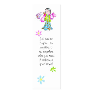 You can do anything bookmark - business cards