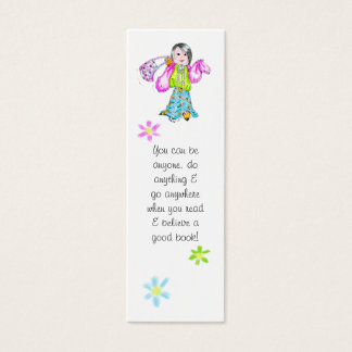 You can do anything bookmark - mini business card
