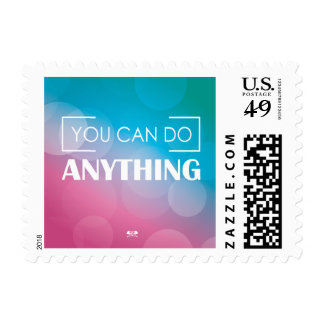 You Can Do Anything Postage