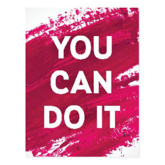 You Can Do It 3 Postcard