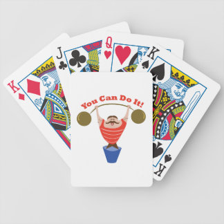You Can Do It Bicycle Playing Cards