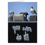 You Can Do It Birds Greeting Cards