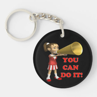 You Can Do It Keychain