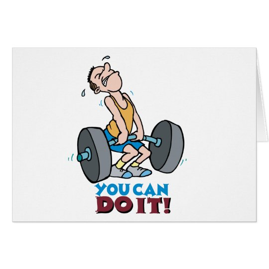You Can Do It -Word Play Card