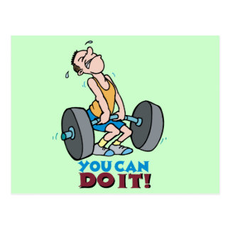 You Can Do It -Word Play Postcards