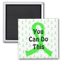 You Can Do This, Inspirational Lyme Magnet