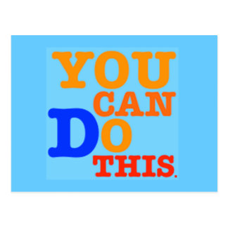 You Can Do This Postcard