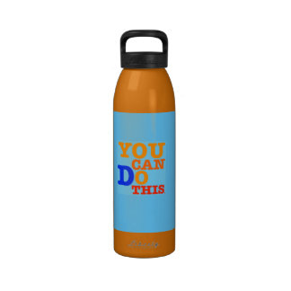 You Can Do This Water Bottle