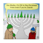 You can enjoy Christmas even if you are Jewish Ceramic Tile