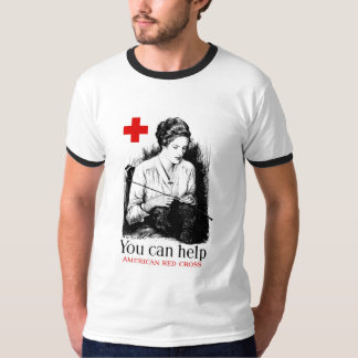 You Can Help American Red Cross T Shirt