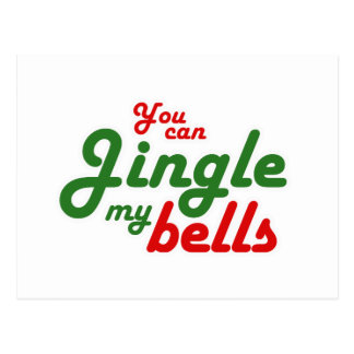 YOU CAN JINGLE MY BELLS - png Post Card