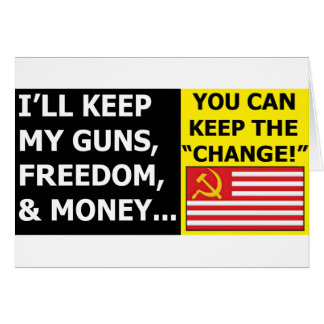 You Can Keep The Change Card