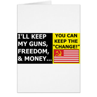 You Can Keep The Change Greeting Card