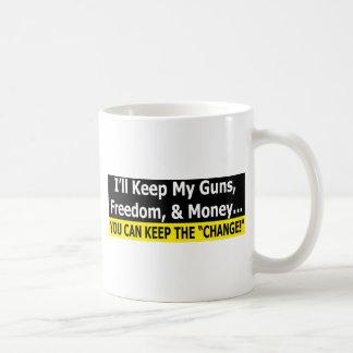 "You Can Keep The ""Change"" Coffee Mug"