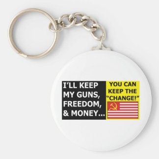 you can keep the change keychain