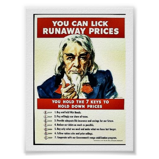 You Can Lick Runaway Prices Print